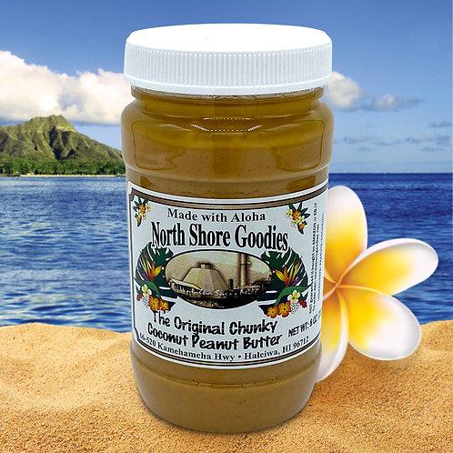 Coconut Peanut Butter - Chunky 8oz