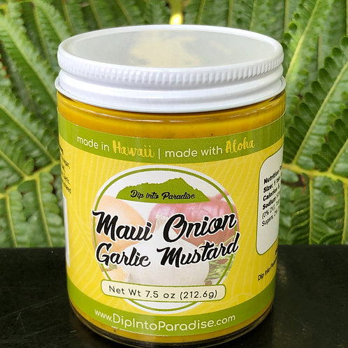 Maui Onion - Garlic Mustard