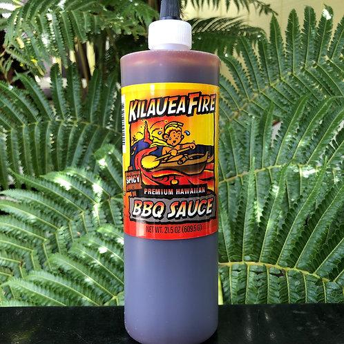 Kilauea Fire Hawaiian Hot Sauce - Spicy 21.5 oz