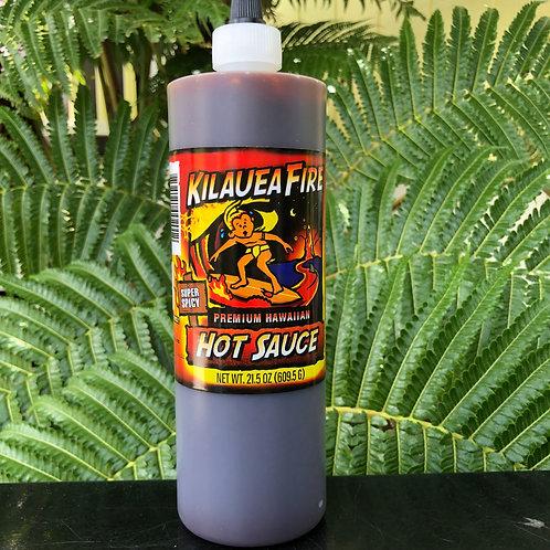 Kilauea Fire Hawaiian Hot Sauce - Super Spicy 21.5oz