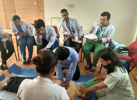 Basic and Advance Cardiac Life Support Training