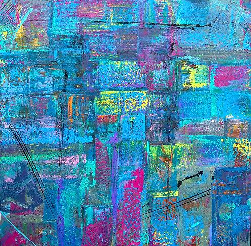 Murmuration in blu