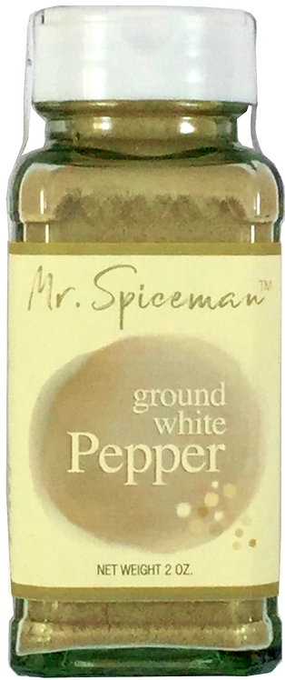 Gourmet Ground White Pepper