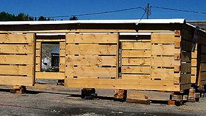 Prefab Dovetail Log Home