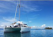Catamaran charter San Blas