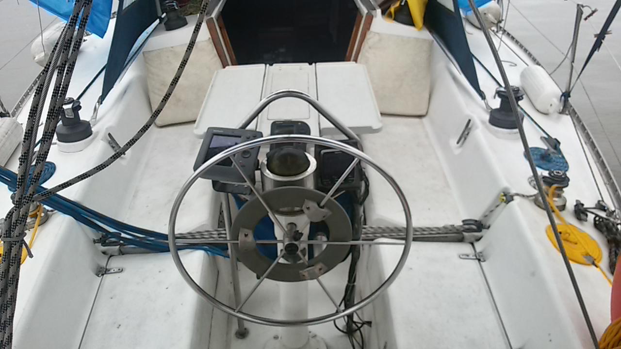 Velamar 36 cockpit