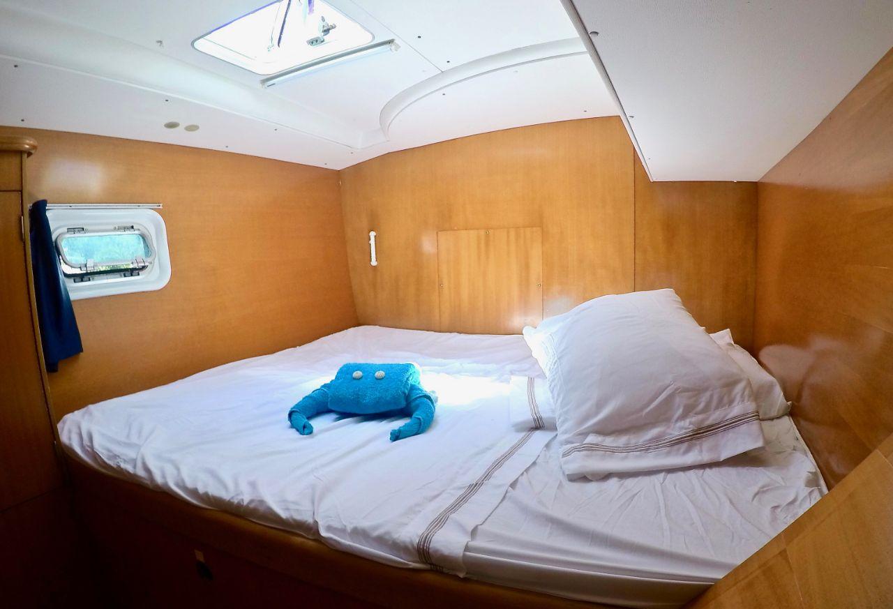 Lagoon 410 cabin
