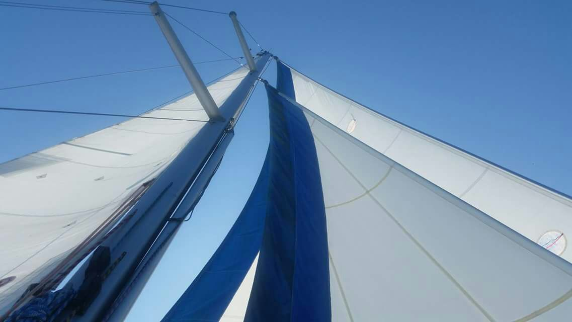 Samoa 30 sailing