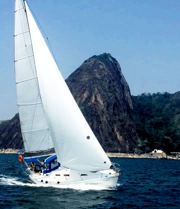 Samoa 35 Rio de Janeiro sailing
