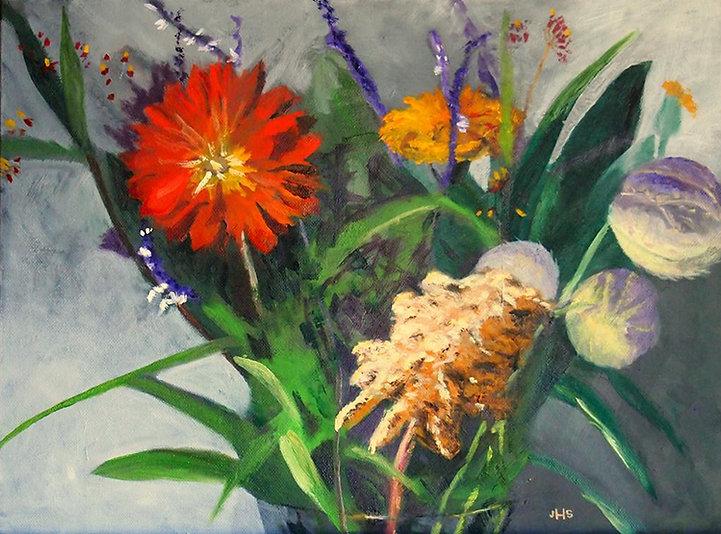 Fall Wild Flowers, Farmers Market - Jan'