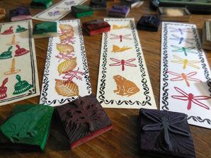 Stamp Bookmarks