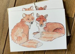 fox notecard