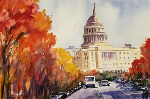 Fall in the Capitol
