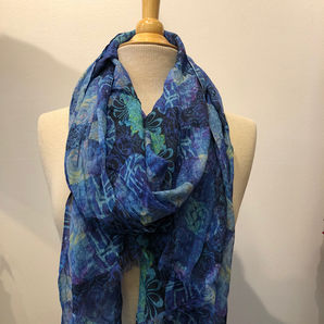 Blue Moons Scarf