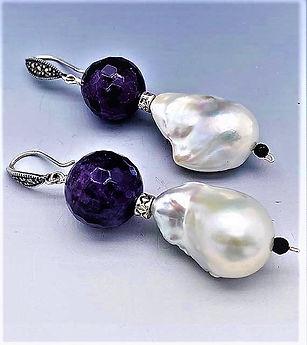 Baroque Pearl Earrings wh Amethyst.jpg
