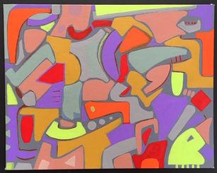 untitled acrylic painting