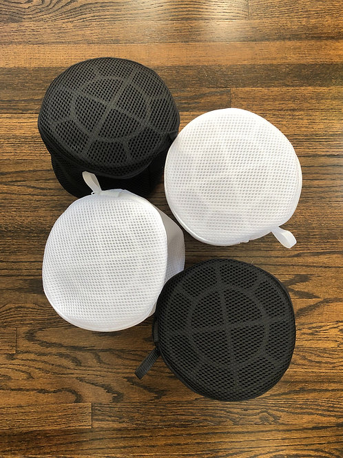 The Quatro ::  Set of 4 Framed Double Mesh Round Laundry Bags