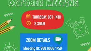 Attend the October USREF Meeting