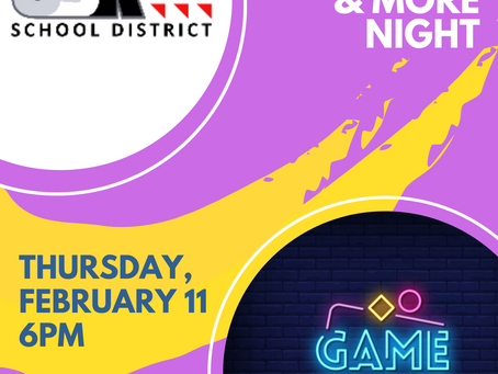 Get ready for some fun at the Family Activities & More Night!