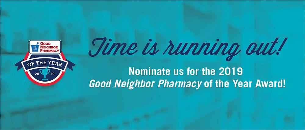Nominate us for GNP Pharmacy of the Year