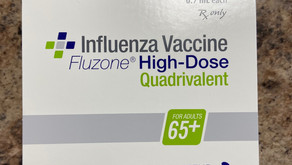 High Dose Flu Vaccine (65+) in stock now!