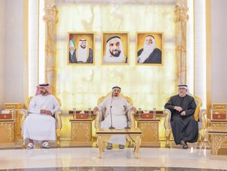 阿联酋领导层协助当地大学毕业生加入国际大学:阿治曼统治者