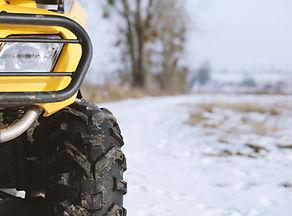 Closeup of ATV Front Light
