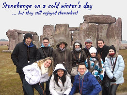 Winter at Stonehenge