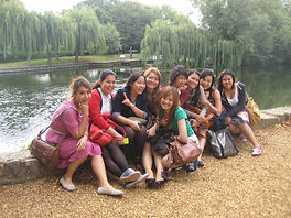 Filipino Group at Shakespeare's Grave