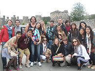 Group at Conwy Castle