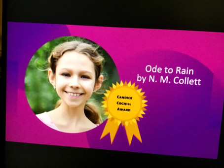 Nicole wins the Candace Coghill Award!