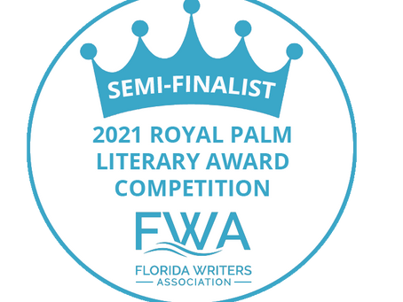 Another SPARK student is selected as a semi-finalist in the Royal Palm Literary Award contest!