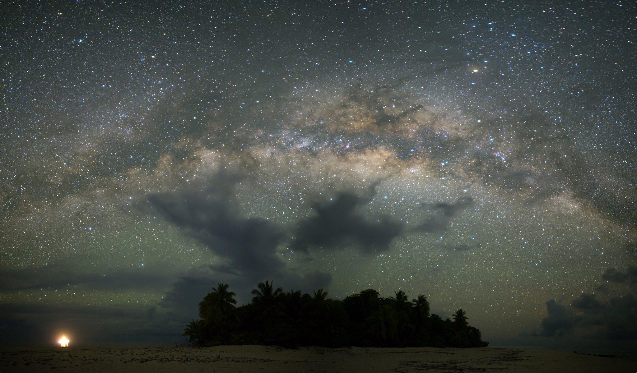 Erikub Atoll Milky Way