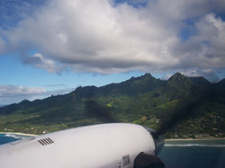 Rarotonga from above