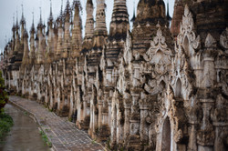 the 2,478 stupas at Kakku