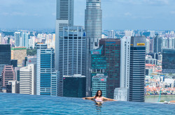 Marina Bay Sands Pool in Singapore