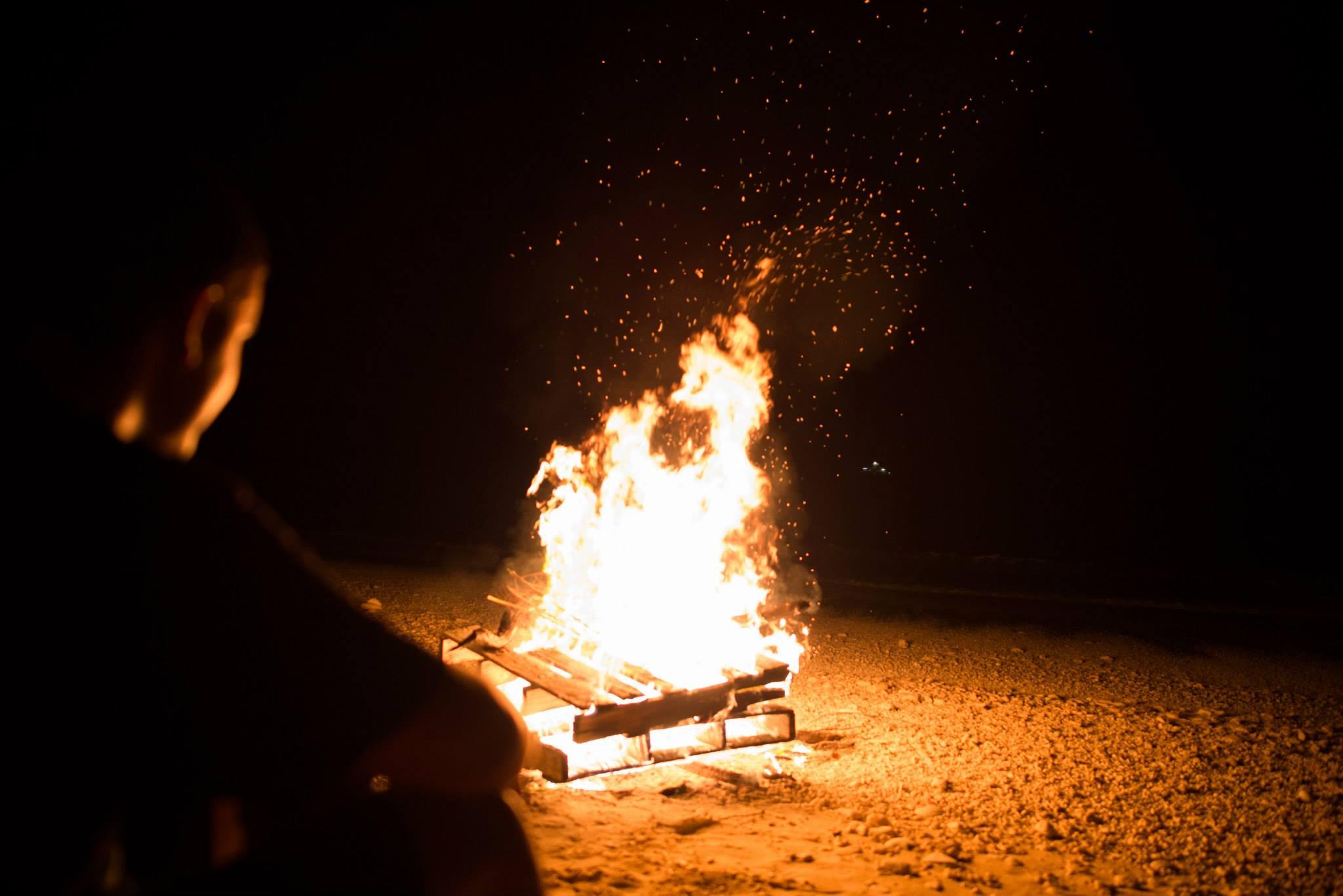 4th of July Bonfire Bikini Atoll
