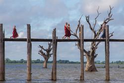 U bein bridge , Mandalay