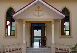 church in Maupiti