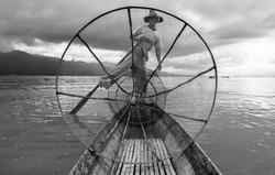 the leg rowing fishermen of Inle Lake