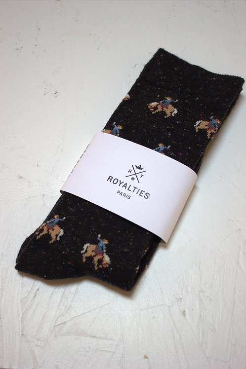 Chaussettes H RODEO Nero