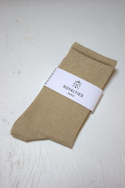 Chaussettes F OLIVIA Or