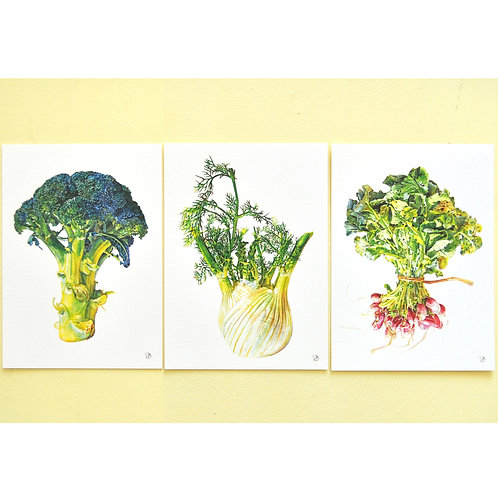 La famille de légumes
