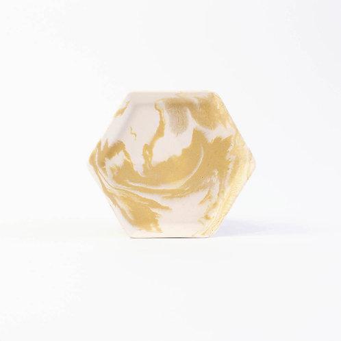 Coupelle hexagonale