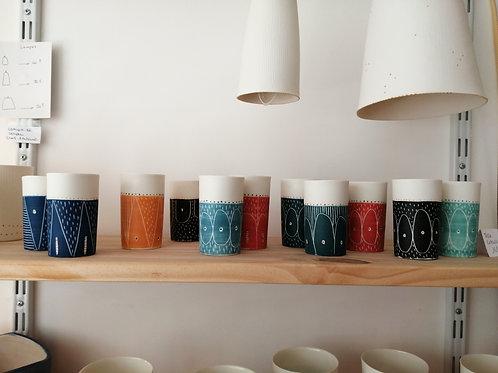 4 Tasses expresso porcelaine