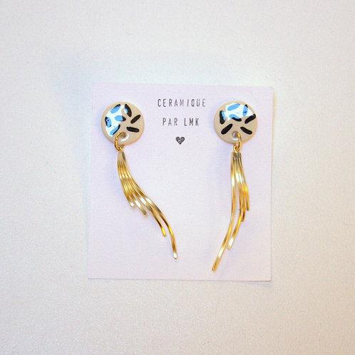 Boucles d'oreilles céramique LMK41