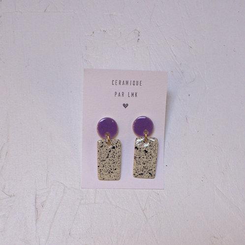Boucles d'oreilles céramique LMK19