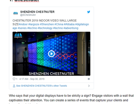 40 of The Coolest Examples of Digital Signage That Startups Should be Using