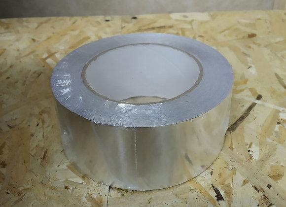 Скотч алюминиевый 50 м/ 50 мм