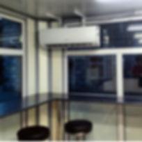 Монтаж кондиционера в павильоне МГриль